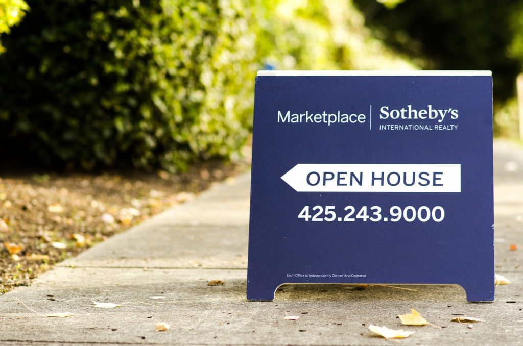 Real estate open house - go to some to get idea of realtor