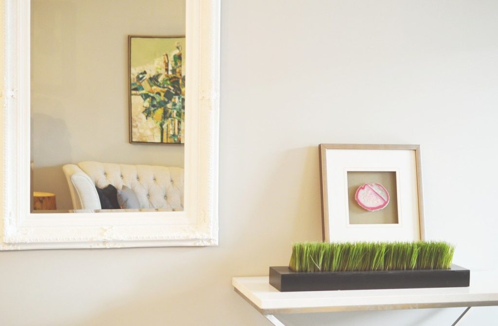Calm Castle Home Staging tips - use mirrors to make rooms look bigger